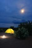 Camping at Canyonlands, Utah