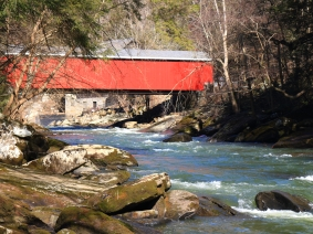 View of a Covered Bridge